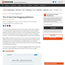 The 12 best free blogging platforms