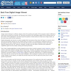 Best Free Digital Image Viewer
