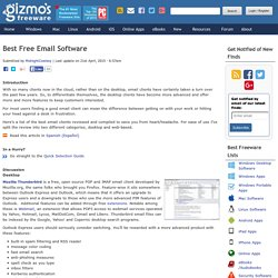 Best Free Email Software