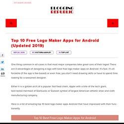 Best Free Logo Maker Apps for Android - Top 10 Logo Maker Apps 2019