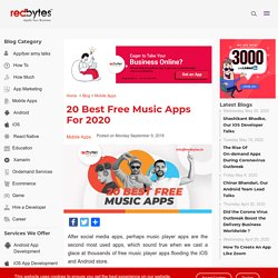 20 Best Free Music Apps For 2020 - Free Music Player Apps