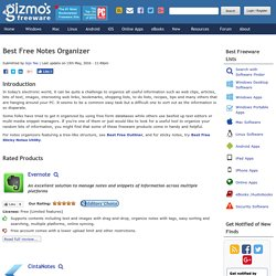 Best Free Notes Organizer