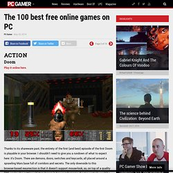 The 100 best free online games on PC - PC Gamer