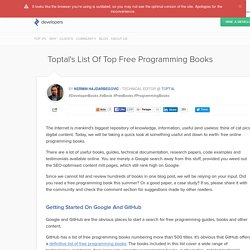 Best Free Programming Books