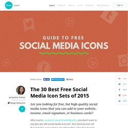 The 30 Best Free Social Media Icon Sets of 2015
