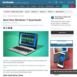 Best free Windows 7 downloads