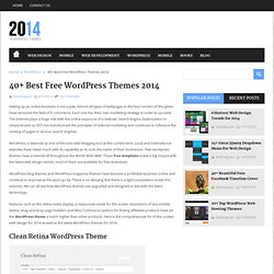 40+ Best Free WordPress Themes 2014