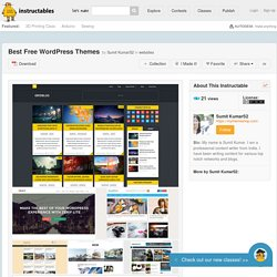 Best Free WordPress Themes - All