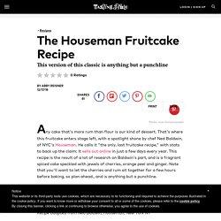 Best Fruitcake Recipe with Rum & Ginger