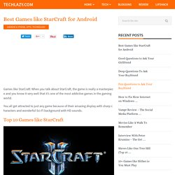 Best Games like StarCraft for Android
