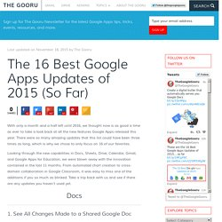 The 16 Best Google Apps Updates of 2015 (So Far)
