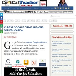 15 Best Google Drive Add-Ons for Education