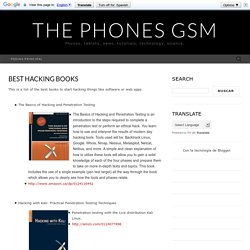 Best Hacking Books ~ The Phones GSM