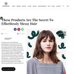 Best Hair Texturizers - Sexy Hair Styling Tips