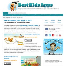 Best Halloween iPad Apps of 2011 - Best Kids Apps