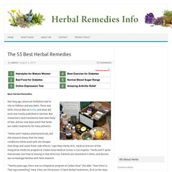 Best Herbal Remedies