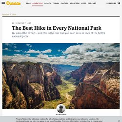 The Best Hike in Every National Park