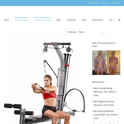 5 Best Home Gyms of 2020 - In One Fit