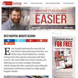 10 Best Hospital Website Designs