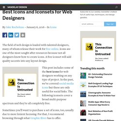 Best Icons and Iconsets for Web Designers