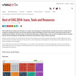 Best of SVG 2014: Icons, Tools and Resources