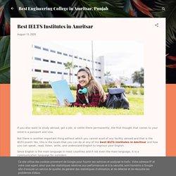 Best IELTS Institutes in Amritsar
