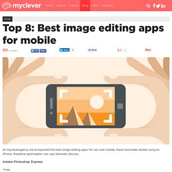 Top 8: Best image editing apps for mobile
