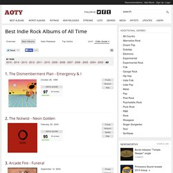 Best Indie Rock Albums of All Time - Music