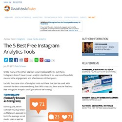 The 5 Best Free Instagram Analytics Tools