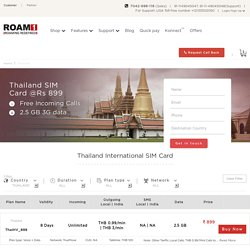 Best International SIM Card For Thailand