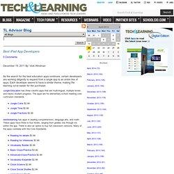 - Best iPad App Developers