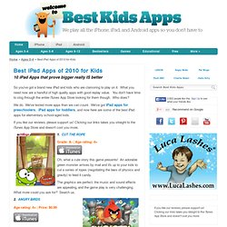 Best iPad Apps for Kids | Best Kids Apps