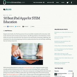 50 Best iPad Apps for STEM Education
