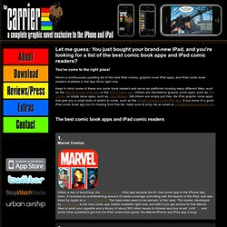 The best iPad comic book apps and graphic novel apps