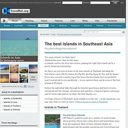 The best islands in Southeast Asia