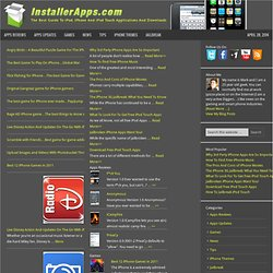 Installer Apps | iPhone and iPod Touch Application Directory