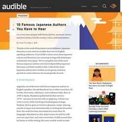 Best Japanese Authors to Read