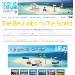 Best Jobs in the World definition