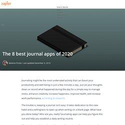 8 best journal apps of 2020
