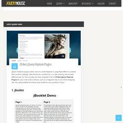 20 Best jQuery Flipbook Plugins
