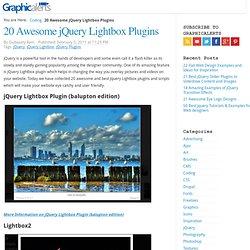 20 Best jQuery Lightbox Plugins