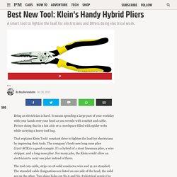Best New Tool: Klein's Handy Hybrid Pliers