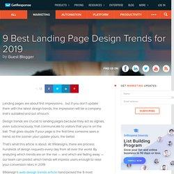 9 Best Landing Page Design Trends for 2019