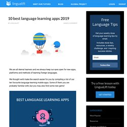 10 best language learning apps