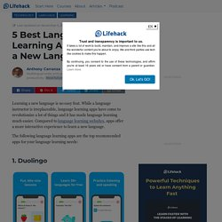 5 Best Language Learning Apps to Master a New Language