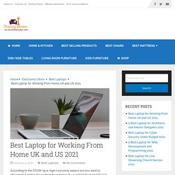 Best Laptop for Working From Home UK and US 2021