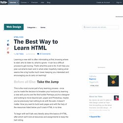 The Best Way to Learn HTML