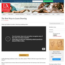 The Best Ways to Learn Drawing - Drawing Academy