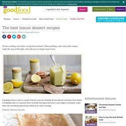 The best lemon dessert recipes