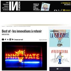 Best of : les innovations à retenir